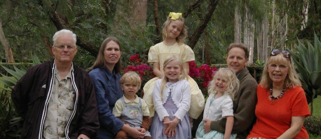 Barron Family - August 2012