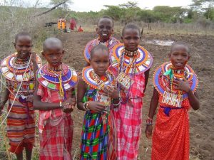Maasai girls of the Loita Hills