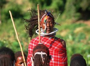 the Leap of the Maasai Warrior