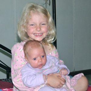 Eliana with Ahaviah